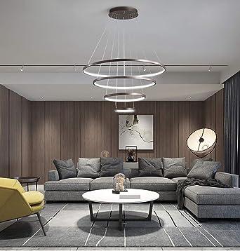 Wohnzimmer Pendelleuchte LED Dimmbar Kronleuchter mit