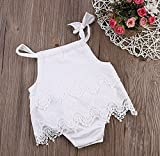 AILOM Newborn Infant Baby Girls Summer Lace