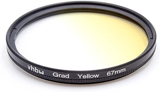 Panasonic Pentax Fuji//Fujifilm Sony Casio vhbw Universal Farb Verlaufsfilter 82mm blau passend f/ür Canon Olympus Nikon