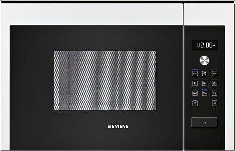 Siemens HF15M264 - Microondas (1270W, 220-230V, 50 Hz, 59,4 cm, 31 ...