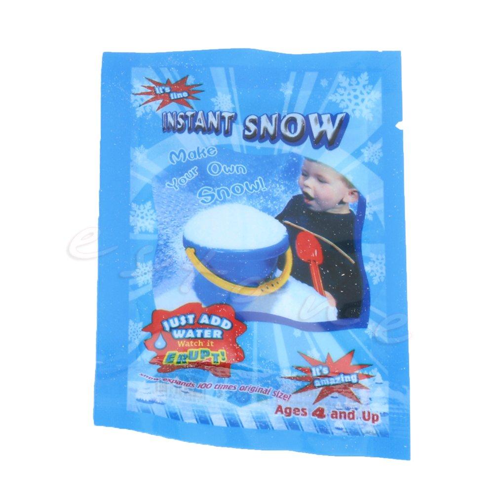 Kofun DIY neve artificiale Fluffy neve grande decorazione per Natale, festa, vacanze, alto assorbimento di acqua, Instant simulazione Snowflake, 10?pezzi