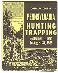 1964 1965 official digest of pennsylvania for Pa fishing license