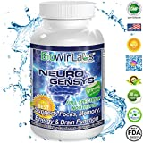BioWinLabs® NeuroGenSys Nootropic Supplement 970+mg Supports Brain Health and Mental Focus (60 Capsules)