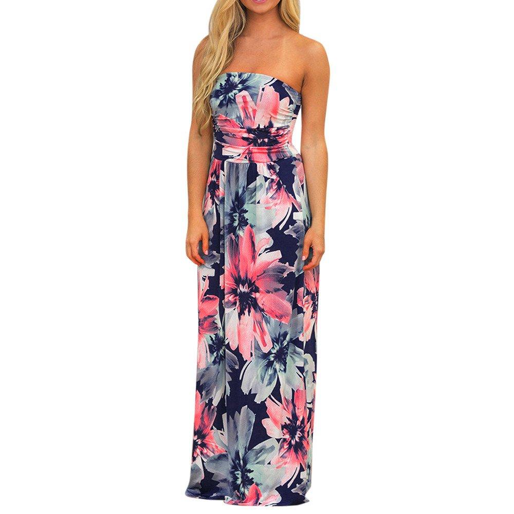 ARINLA 2018 Summer popular Maxi dress long dress skirt sleeveless flower print pocket