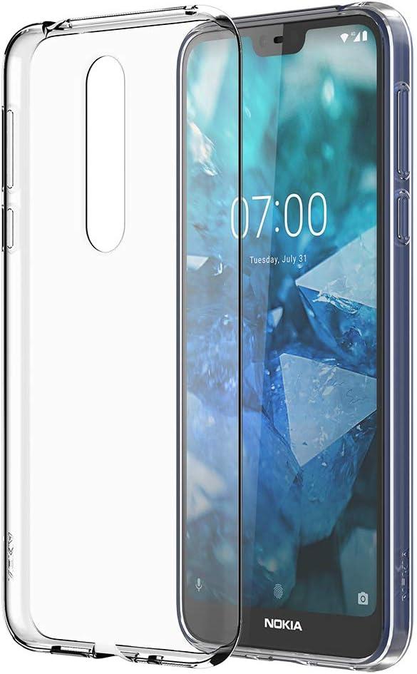 Nokia 7.1, Transparente, Phone Case: Amazon.es: Electrónica