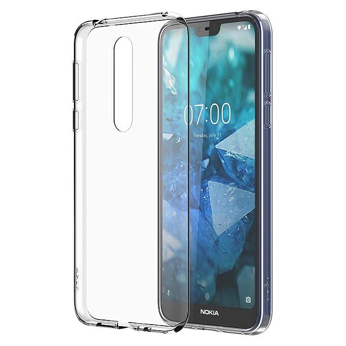 online store 1e9ea 3799b Nokia 7.1 Case - Official Nokia Accessory - Clear