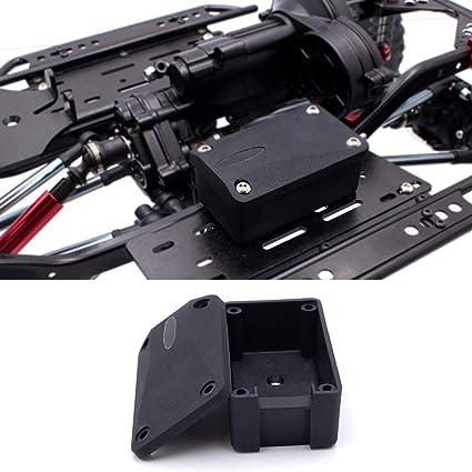 HYLH Caja receptora RC Racing para 1/10 RC Crawler Car Axial ...