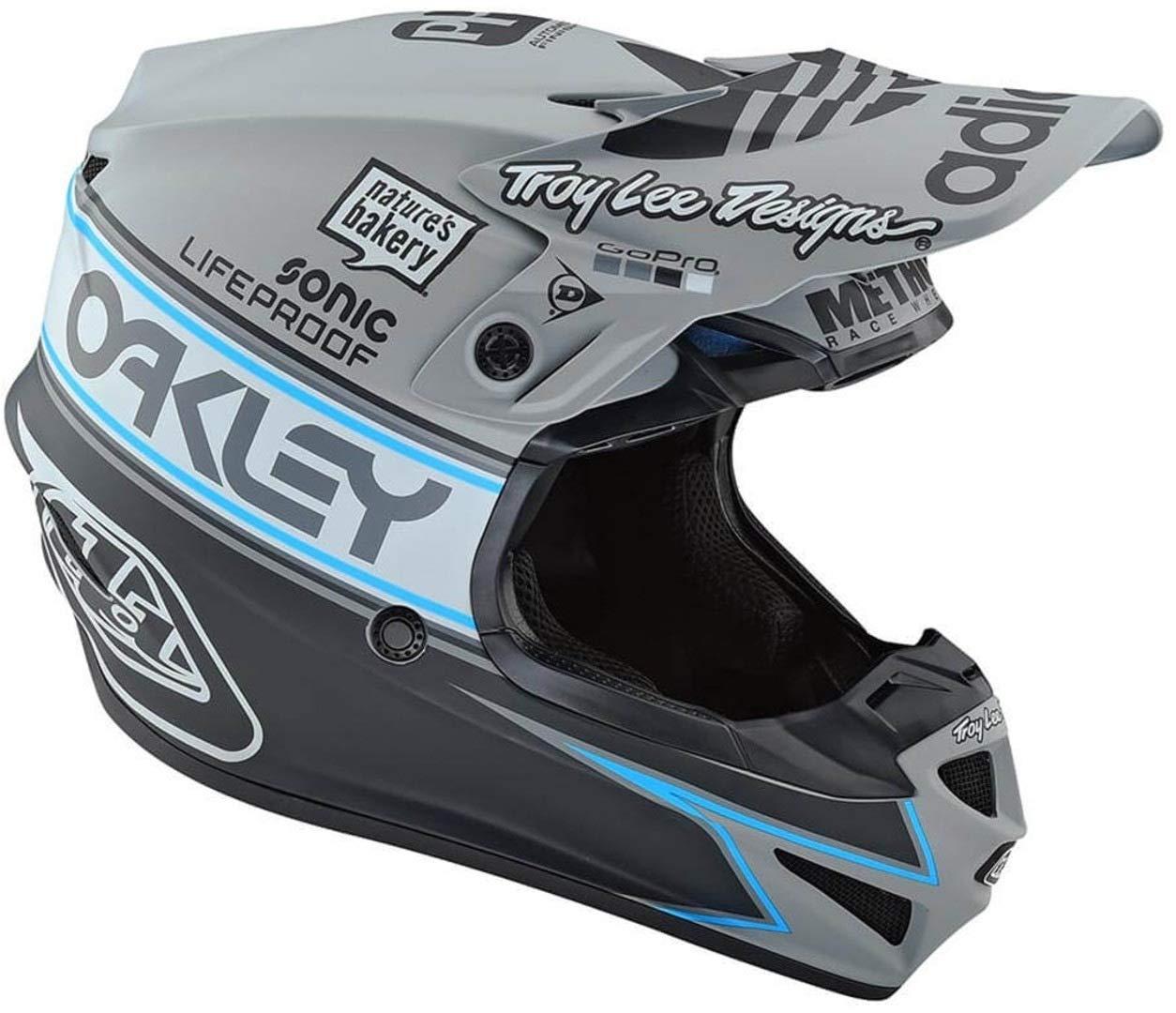Xs, Gris Troy Lee Designs Casque Motocross 2019 Se4 Team Edition 2 Polyacrylite Gris
