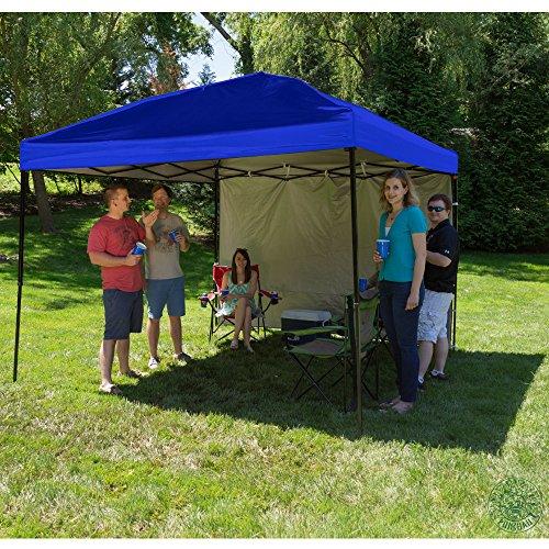 Punchau Pop Up Canopy Tent With Sidewall 10 X 10 Feet