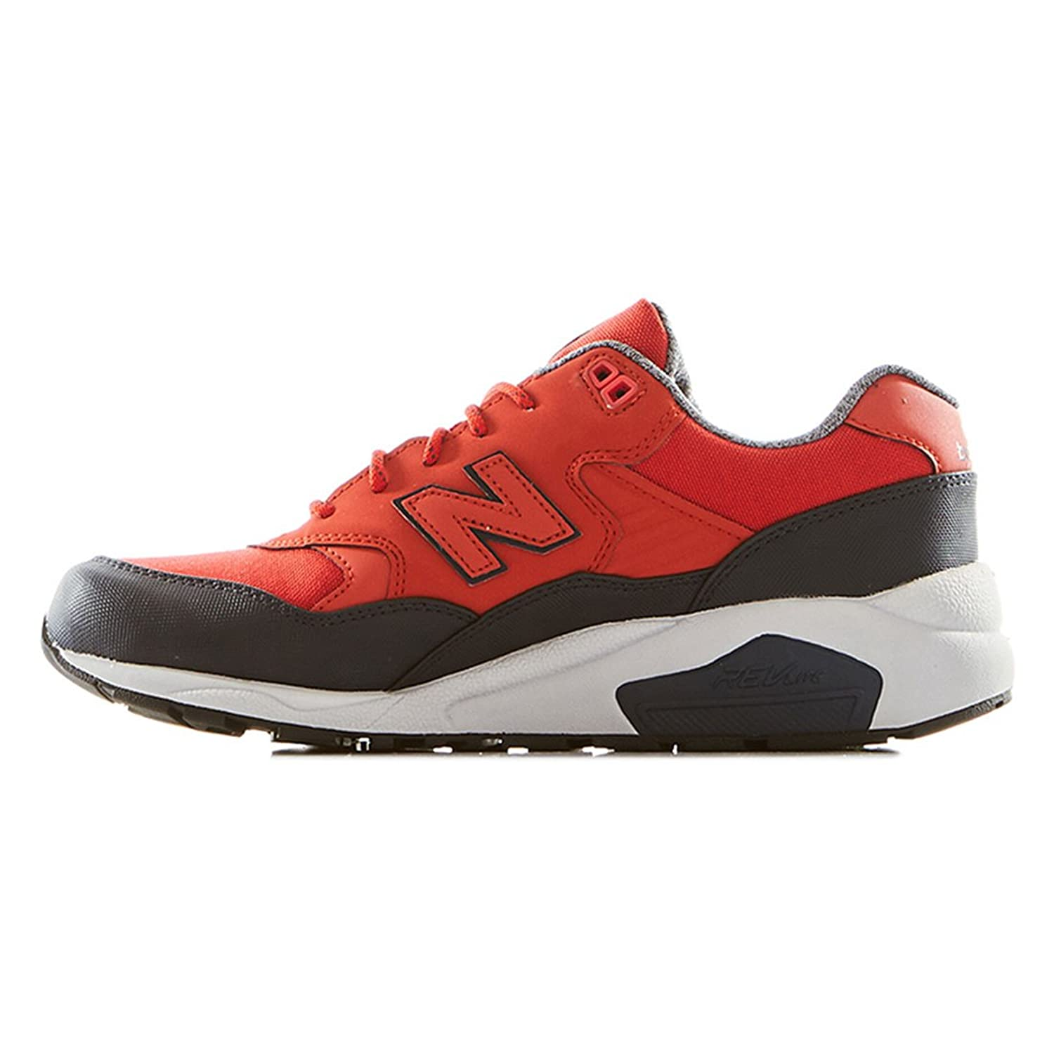 New Balance Red  Black Gore Tex Runner Trainers