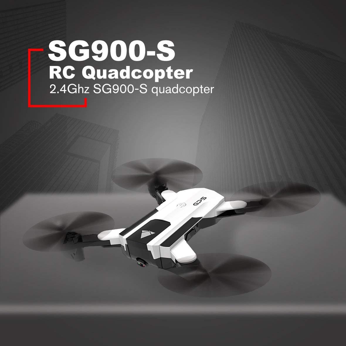 Heaviesk 3 Batería SG900-S 2.4G RC Drone Selfie Plegable GPS ...