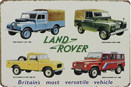 Sary Buri Four Rover Car Vintage Plaque En Métal Plaque