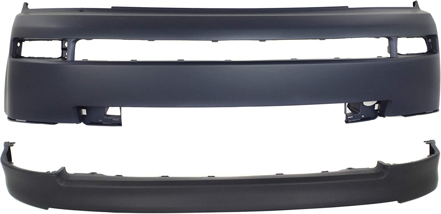 Partslink Number SC1000102 OE Replacement Scion XB Front Bumper Cover