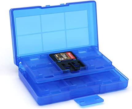 HONZIRY Caja de Almacenamiento de Tarjetas de Juego portátiles 24 ...