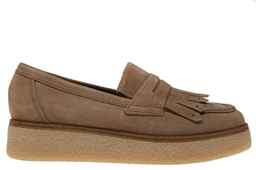 Rebecca Hope - Mocasines Con Plataforma -Mujer-Color Taupe-Talla40: Amazon.es: Zapatos y complementos