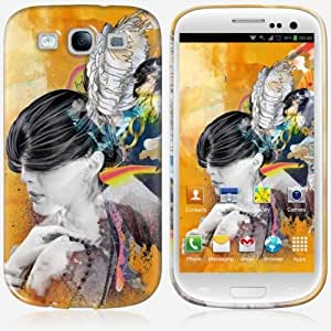 Galaxy S3 case - Skinkin - Original Design : Floating minds by Archan Nair wangjiang maoyi