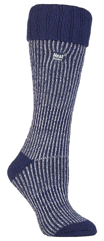 HEAT HOLDERS - Las mujeres termo calcetines Botas de agua Tamaño 4-8 púrpura (Wellington calcetín) (botas de color púrpura/púrpura): Amazon.es: Ropa y ...