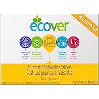 Ecover automático lavaplatos tabletas, 45 Count