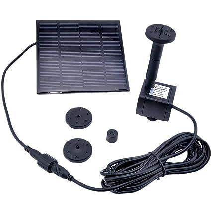 Amazon.com: kelomtechnology Solar Power Panel Kit de bomba ...