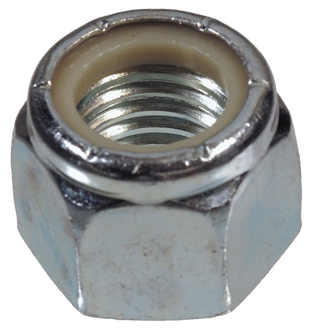 The Hillman Group 180180 Nylon Insert Lock Nut 100-Pack 5//16-Inch by 24-Inch