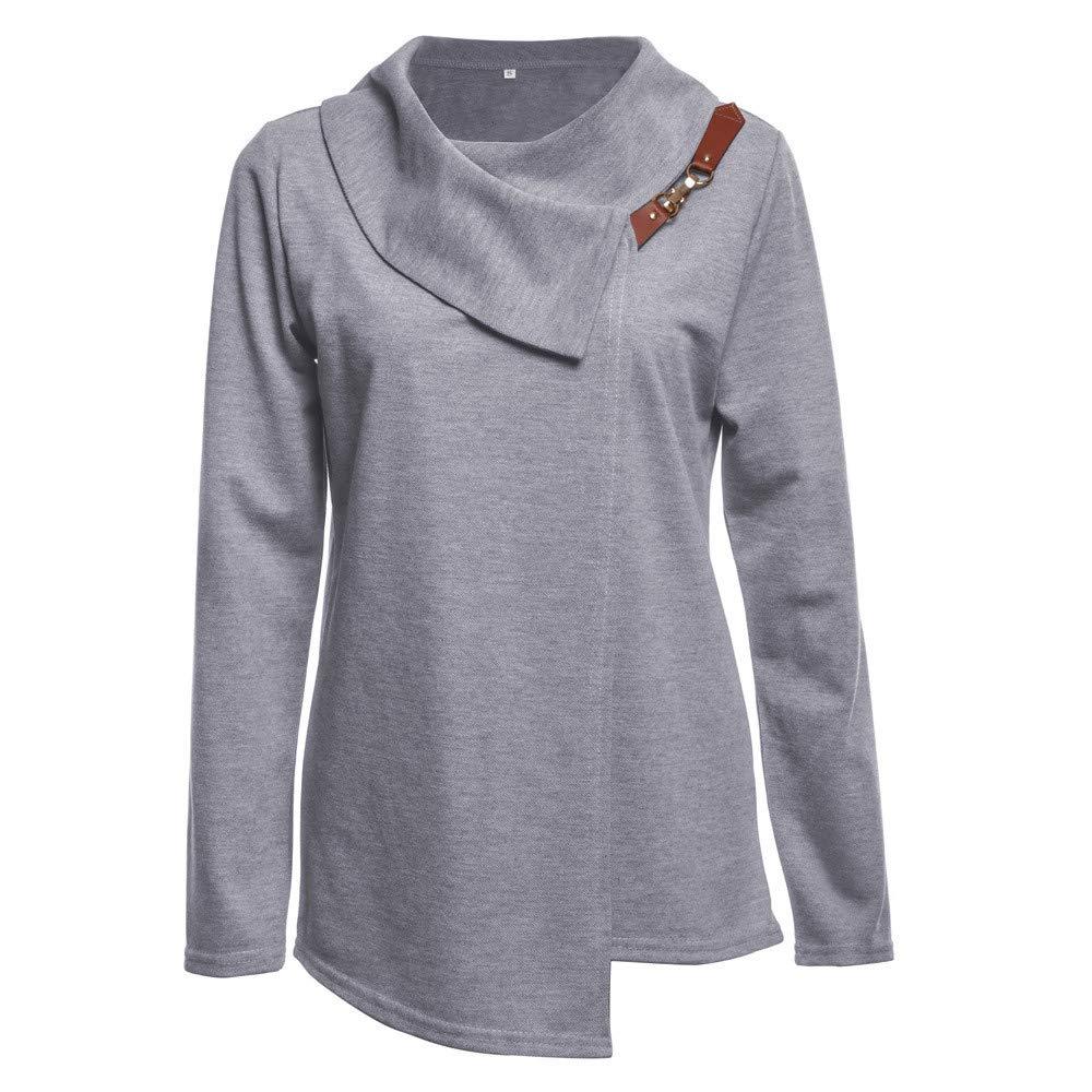 Linkay Pullover Tops Women Ladies Autumn Winter Bow Collar Top T-Shirt Fashion 2018
