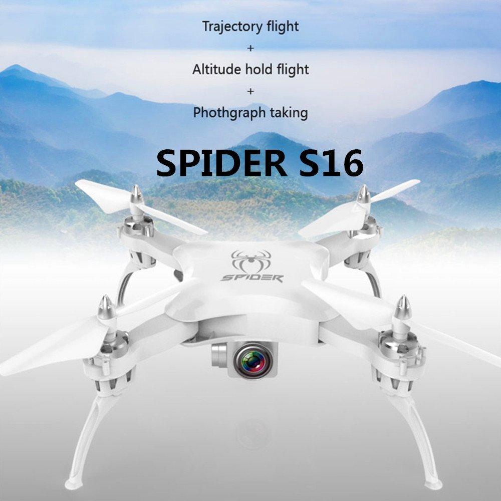 Anyutai S16 Pressure Set High Drone Quadcopter pieghevole, dotato di fotocamera da 0,5 Megapixel 360 gradi Flip Headless Mode One-click Return Upgraded Flying Toy