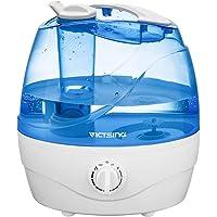 VICTSING Humidificador Bebé Ultrasónico 2L, Humidificador Ultrasónico Silencioso