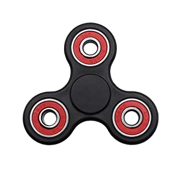 MASCOTKING Fidget Spinner Toy Stress Reducer Hand spinner fidget toys hand  fidget (black)