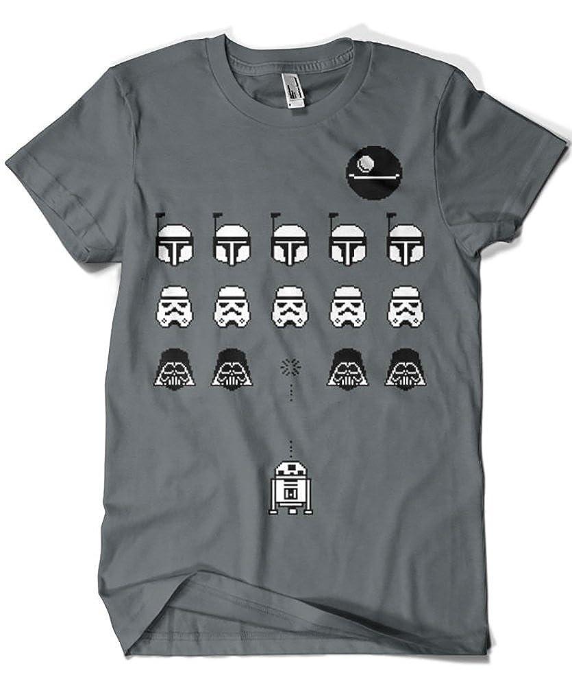 Camisetas La Colmena 1349-Maglietta Parody Star Wars (Karlangas)