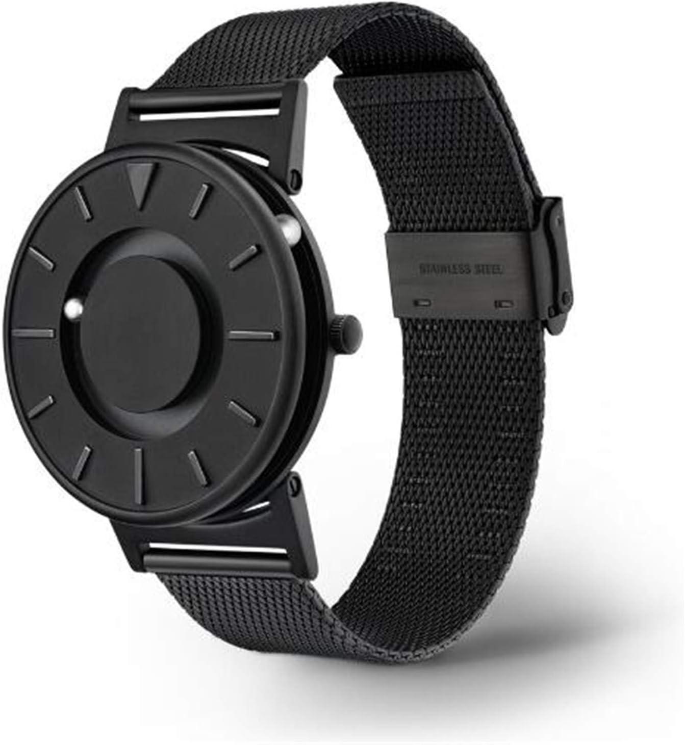 LEY Black Technology Watch Male Tide Ball Creative Ball Personalidad New Concept Female Masculino Reloj de Cuarzo