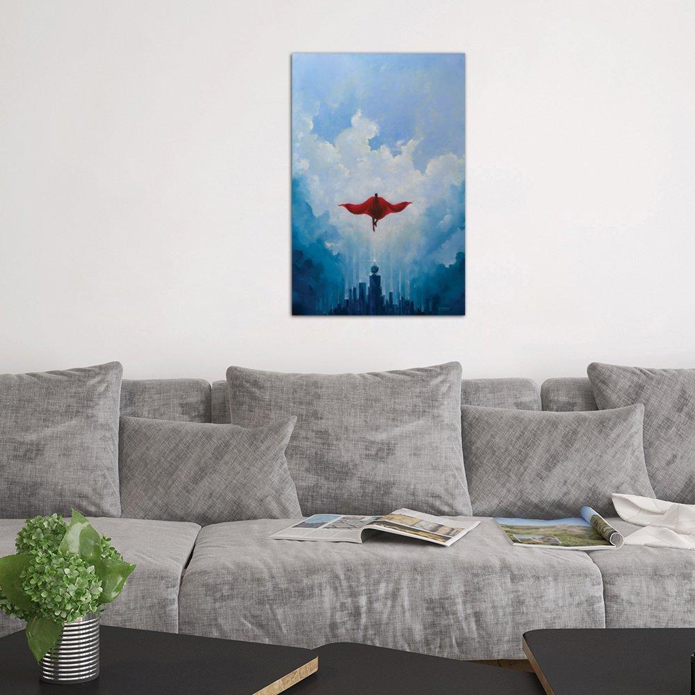 iCanvasART Savior Canvas Print by Vincent Carrozza 26 x 18