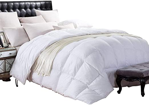 Amazon Com Cal King Size 1200 Thread Count Siberian Goose Down