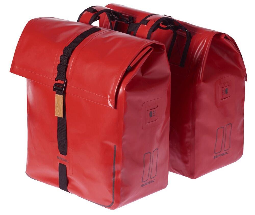 Ortlieb Seatpost Bag MD Signal Red//Black