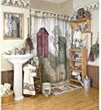 Avanti Linens Outhouses Shower Curtain, Multi