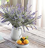 8-Bundle-Artificial-Flower-Purple-Lavender-Bouquet-with-Green-Leaves-for-Home-Party-Decorations