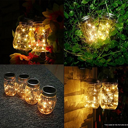 Yellow Glow Solar Lights