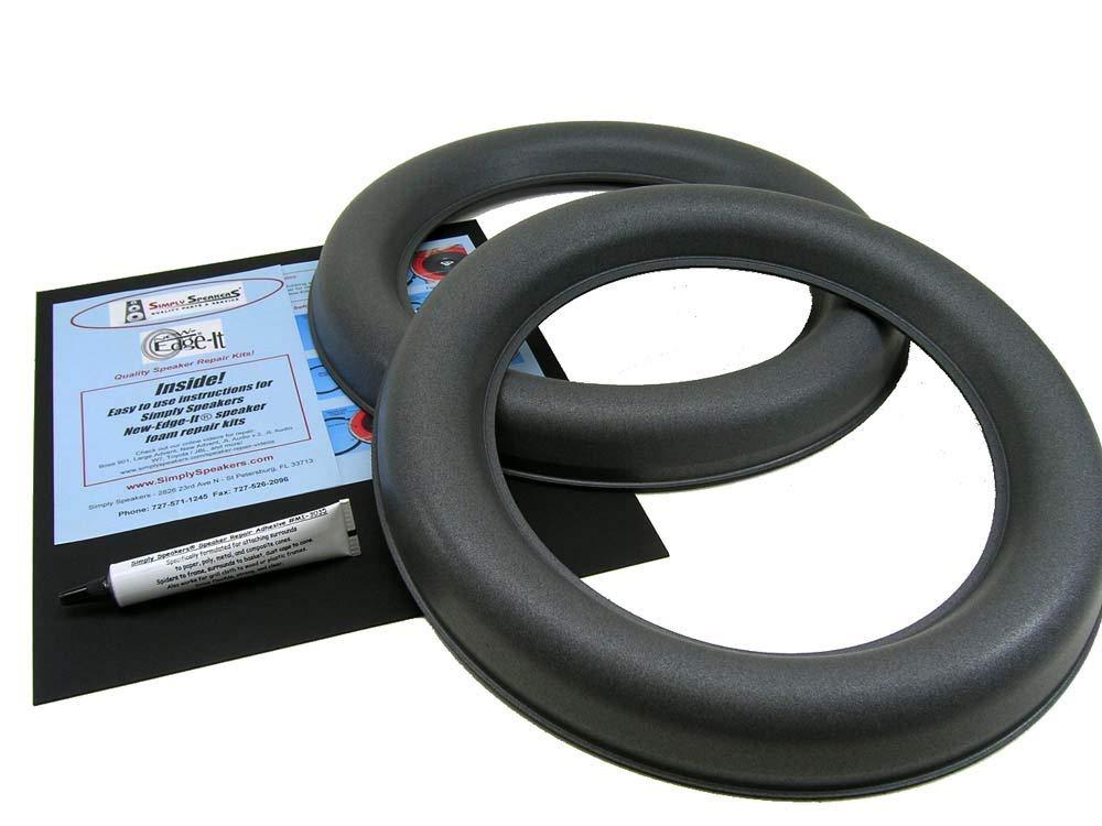 JL Audio 13W7 Speaker Foam Edge Repair Kit, 13'', 13W7, Extra Wide Roll, FSK-13JL-W7 (Pair)