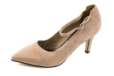 Tamaris Damen Pumps Schwarz Blau Gr. 37: : Schuhe