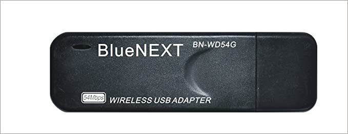 BN-WD54G Wireless Utility - BLUENEXT Software Informer