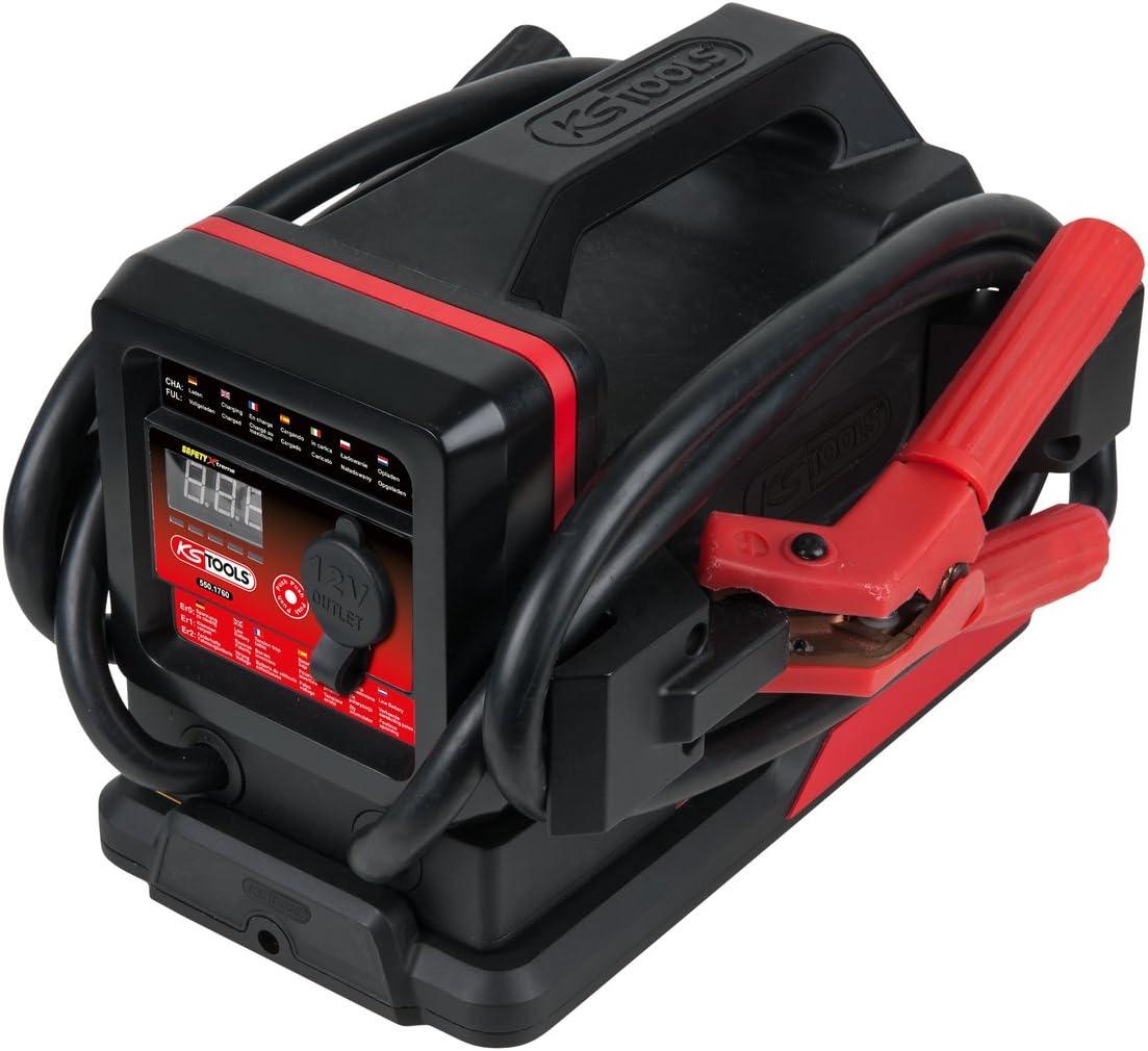 /Mobile de batterie de d/émarrage 700/A 12/V avec station de chargement KS Tools 550.1760/inductif Booster/