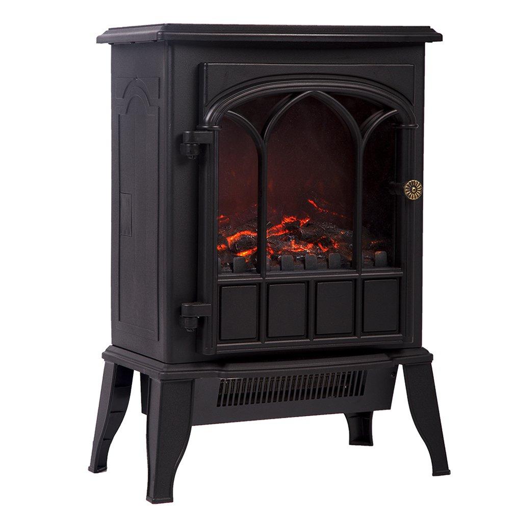 Amazon Com Bestmassage Electric Fireplace Heater 750w 1500w Free
