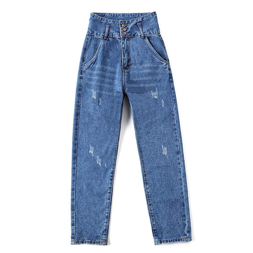 Pantalon Femme Grande Taille Haute Fluide Lin Pas Cher Ete Blanc Militaire Enceintes Elastique Coton Slim Yoga Motif Jambe Coupe Droite Jeans en denim avec poches /à fermeture /à glissi/ère