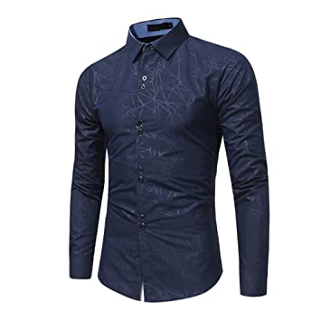 Camisa manga larga para hombre,Sonnena ❤ Camisa formal casual otoño de los hombres