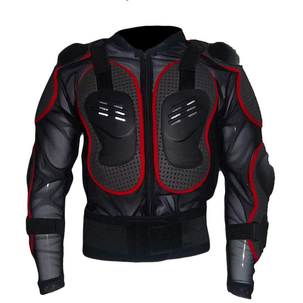 Protective Clothing Motorcycle Full Body Armor Jacket Motocross Racing Spine Chest protector Extreme Sport Coat TiTCool