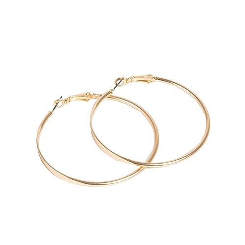 Parfois - Aros Grandes Golden Basics - Mujeres - Tallas ...