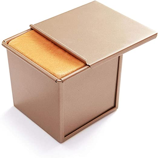 Guoc Caja Deslizante Antiadherente para Pan Tostado Corrugado,Caja ...
