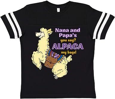 inktastic Tias You Say Alpaca My Bags with Cute Jumping Alpaca Baby T-Shirt
