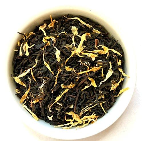 (Beantown Tea & Spices - Ginger Peach Black Tea. Gourmet Loose Leaf Black Tea. 100% Natural. (4 oz.))