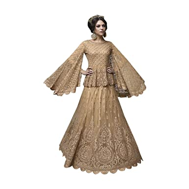 1165261880 Amazon.com: Bollywood Long Lehenga Salwar kameez Gown Dress Suit Muslim  Wedding Custom to Measure Eid Festive Indian 2541: Clothing