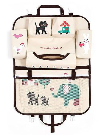 Car Seat Back Organizer Kids Toy Storage Multifunctional Multi Pocket Durable Hanging